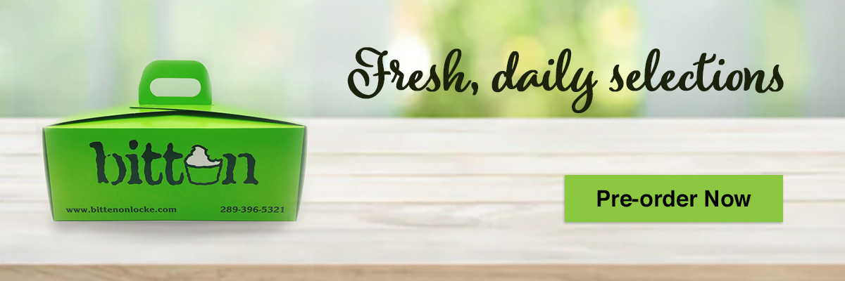 Fresh daily selections